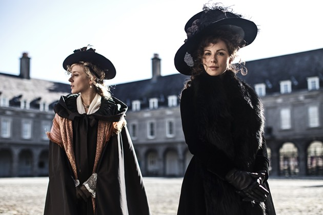 Kate Beckinsale reunites with Chloë Sevigny in director Whit Stillman's Love & Friendship, opening in San Francisco on May 20. - ROSS MCDONNELL, COURTESY OF AMAZON STUDIOS AND ROADSIDE ATTRACTIONS