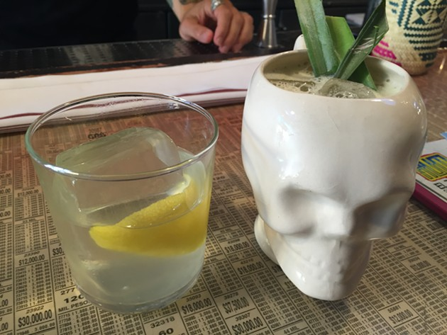 I'll drink anything that comes out of a skull. Anything. But Loló's cocktails are the best. - PETER LAWRENCE KANE