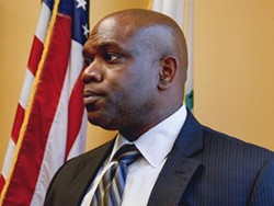 Toney Chaplin, the new chief of police. - SF EXAMINER