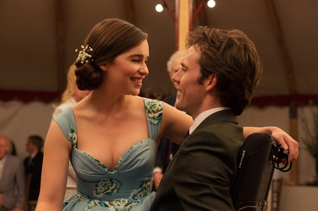 Louisa Clark (Emilia Clarke) and Will Traynor (Sam Claflin) prove that love is the most vital feeling in Me Before You. - ALEX BAILEY