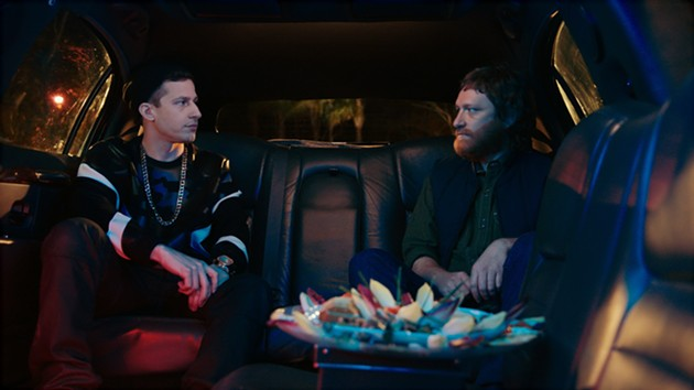 Popstar's infamous limo scene gives new meaning to members only. - COURTESY OF UNIVERSAL PICTURES