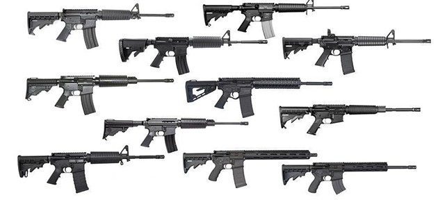 """""""The Top 10 AR 15s Under $500"""" is a thing in America today. - SLICKGUNS.COM"""