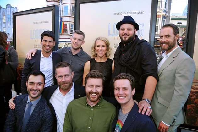 Just two and a half years after appearing at HBO's Looking premiere at S.F.'s Castro Theatre, the cast of the cancelled show reunited at the legendary movie palace for one last hurrah. - ACT OUT PHOTOGRAPHY BY JIM NORRENA