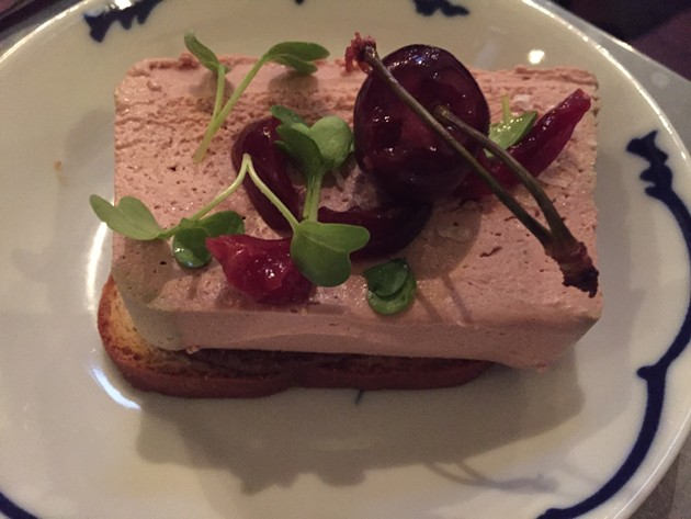 Chicken liver pâté - PETER LAWRENCE KANE