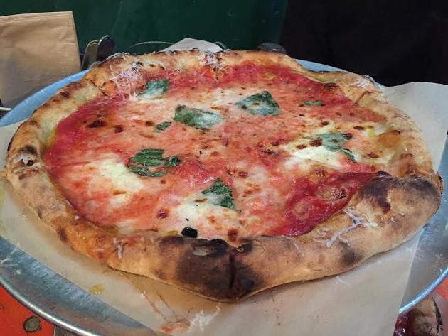 PizzaHacker's Margherita pizza - PETER LAWRENCE KANE