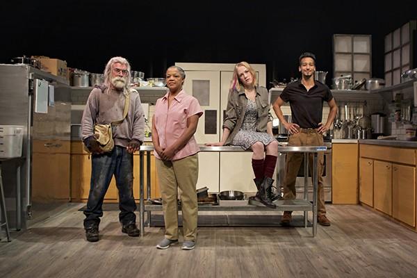Kevin Clarke as Frog, Cathleen Riddley as Shelley, Megan Trout as Emma, Caleb Cabrera as Oscar - PAK HAN