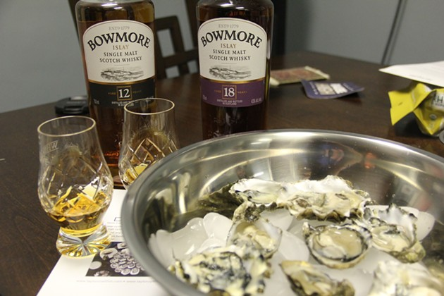 DIY Pacific Northwest Oysters with Bowmore Whisky - BRAD JAPHE