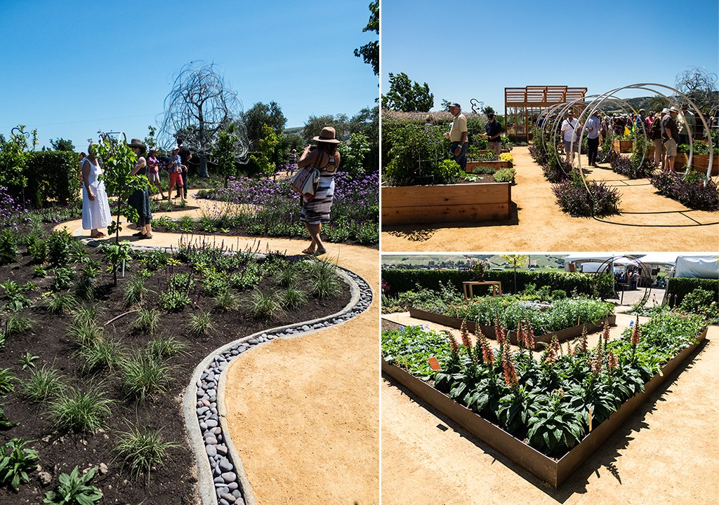 Click To Enlarge The Upgraded Sunset Garden Takes Up A Quarter Acre At Cornerstone  Sonoma.   THE DAPPER