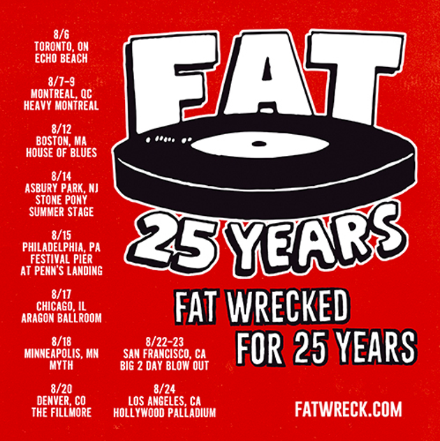 Happy Birthday Fat Wreck Chords A Look Back Over 25 Years Of Pop