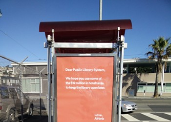 Airbnb Apologizes For Passive Aggressive Ads on Muni Shelters (UPDATED)