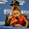 Riley Curry's Dad Won a Basketball Game Last Night