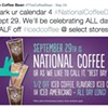 Sept. 29 is National Coffee Day: A Coffee Lover's Dream (Or Maybe Not)