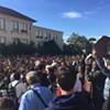 Berkeley Students Stage Walkout After Racist Message Discovered