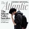 The Atlantic's Silicon Valley Suicides Cover Story and the Risk of Copycat Suicides