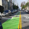 Great Success: Cyclists' Sensible Yet Illegal Behavior Rewarded (With Bike Lane)