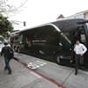 Unions Halt Tech Buses