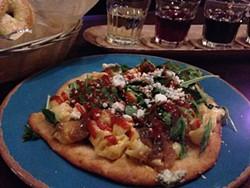 TREVOR FELCH - Jamber Wine Pub's Mac 'n' Cheese Pizza