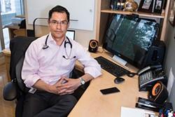 Dr. Eduardo Dolhun runs a concierge health clinic in Pacific Heights.