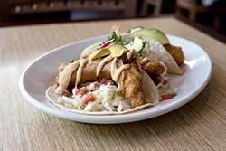 MICHAEL ARES - Baja fish tacos