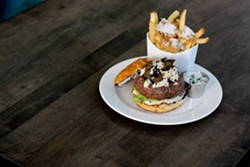 KEVIN KELLEHER - The Royal Dorian, a $40 burger.