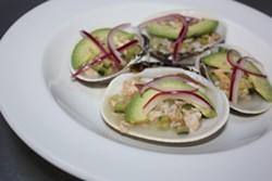 KEVIN KELLEHER - Butter clam aguachile