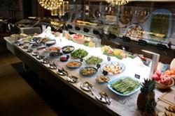 KEVIN KELLEHER - The salad bar