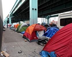 EKEVARA KITPOWSONG/SF EXAMINER - Tent city