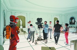 (GB/UNITED STATES; 1965–68). © WARNER BROS. ENTERTAINMENT INC. - Stanley Kubrick during the production of 2001: A Space Odyssey