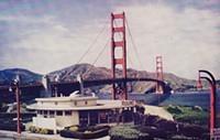 The Golden Gate Bridge Round House Serves Food Now