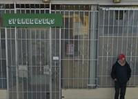 Barry McGee Sign in Tenderloin Stolen