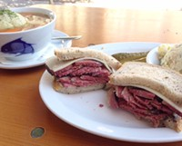 Between Two Slices: Swiss Cheese on Pastrami. Yay or Nay?