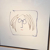 I Just Had to Look, Having Read the Book: An Art Exhibit for John Lennon's 75th Birthday