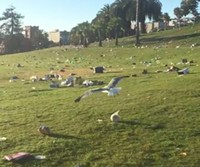 VIDEO: Pride Trashes Dolores Park Into Submission, Evokes Dystopian Metaphors