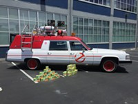 Do You Want to Ride Around San Francisco in Ecto-1 Today or Tomorrow?