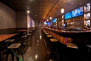 Bar: Rocks Den, A Reclaimed Wood Man Cave