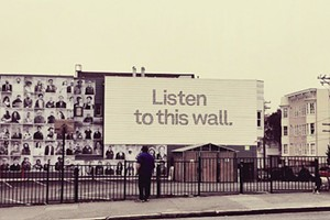 Know Your Street Art: Listen to this wall