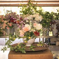 Spring Floral Centerpiece Design with B-Side Farm