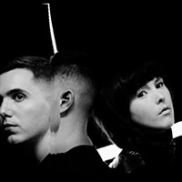 Purity Ring Invents Onstage at the Fox