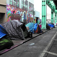 The Tent City the Super Bowl Created