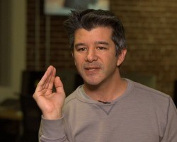 Uber CEO Travis Kalanick dispensing advice on how to not get screwed by Uber.