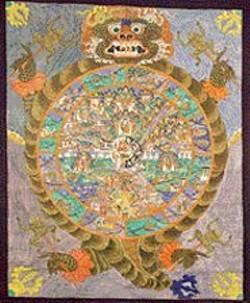 Unknown artist, Wheel of Life.