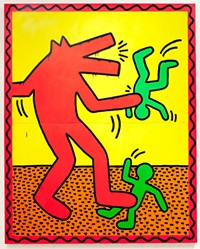 Paint Fast, Die Young: Keith Haring's Adorable, Devastating Legacy