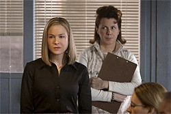 REBECCA SANDULAK - Urban sophisticate (Renee Zellweger) meets churchgoing, scrapbooking secretary (Siobhan Fallon Hogan).