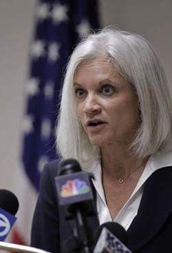 US Attorney Melinda Haag, weed-killer