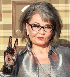 V for Voting on Cannabis - TWITTER.COM/THEREALROSEANNE