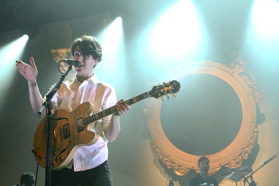 Vampire Weekend at the Fox Oakland last night. - CHRISTOPHER VICTORIO