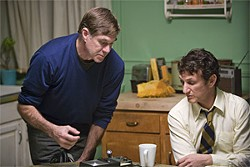 PHIL BRAY - Van Sant and Penn on the set of Milk.