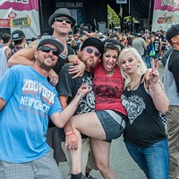 Vans Warped Tour @ Shoreline Amphitheatre