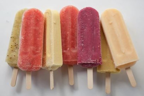 Various ice pop flavors by the Pop Nation. - THE POP NATION