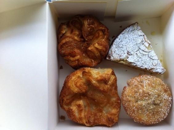 Various pastries at b. patisserie. - MISSY BUCHANAN